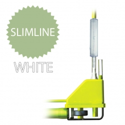 Aspen Silent+ Mini Lime with White Slimline In Trunking Mini Pump