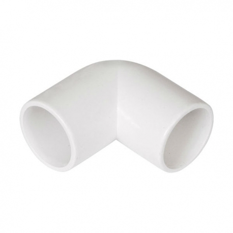 "3/4"" 90 Deg Bend 5pk White"