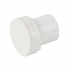 40mm ABS Access Plug White