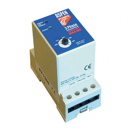 Aspen Xtra 3 Phase Failure & Phase Protection Detector