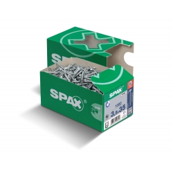 Spax Wirox Flat CSK - T-Star - 4.0 x 50mm - 200/Box