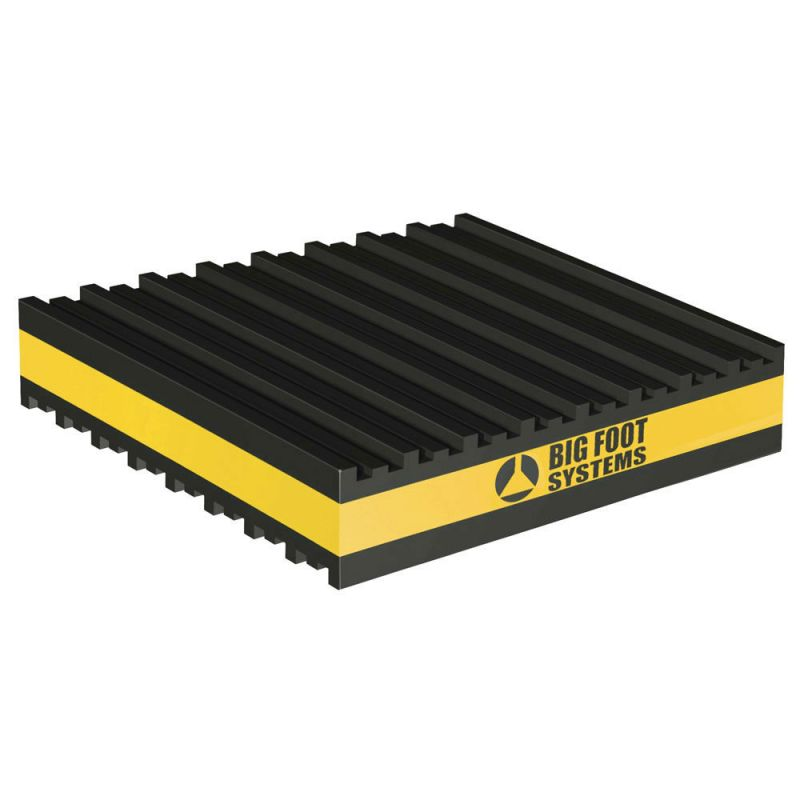 Bigfoot anti vibration pad 51 x 51 x 22 2mm - Patin anti vibration ...