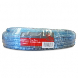 "1/4"" Clear Reinforced Vinyl Tube 30M"