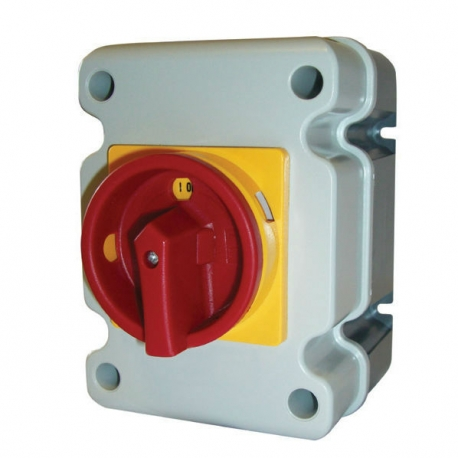 25A 4 Pole IP66 Isolator