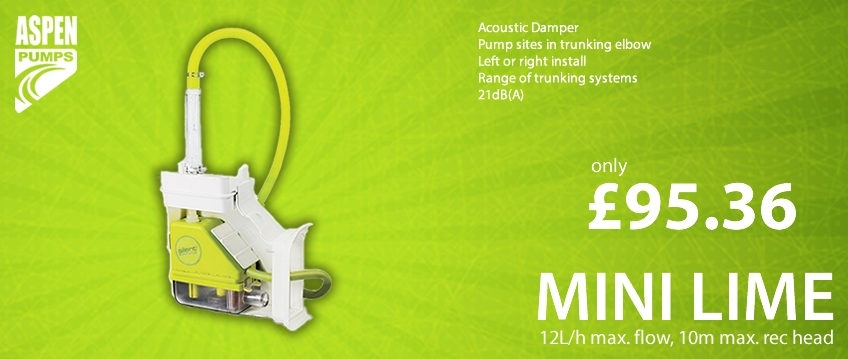 Aspen Mini Lime Silent Pump - From £64.84